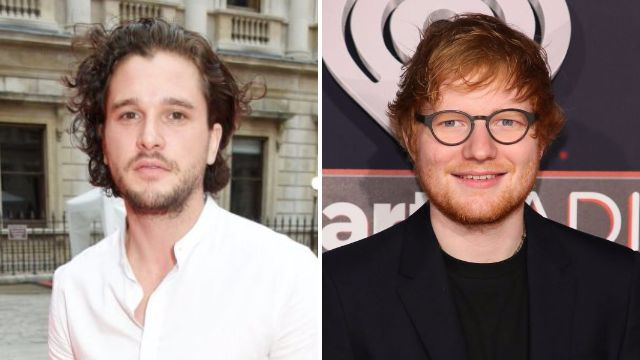 Ed Sheeran and Kit Harington first met in a men's toilet – and it was awks