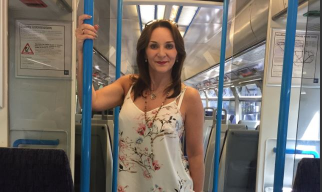 New Strictly judge Shirley Ballas takes the public transport as she enjoys relative anonymity before she starts as head judge