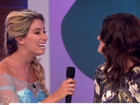 Stacey Solomon sang Frozen's Let It Go with Idina Menzel and became the Elsa in all of us