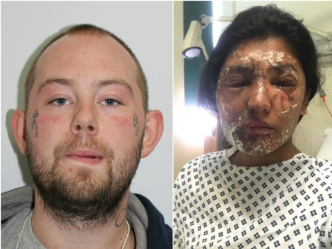 Man wanted after acid attack on two people in east London