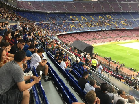 Former Barcelona director Toni Freixa hits out at club's fans for poor turnout at legends' match