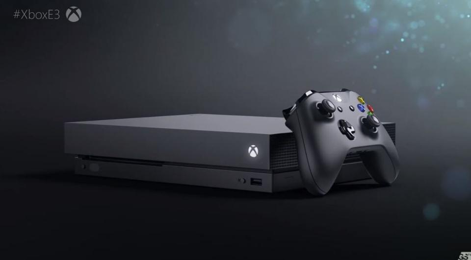 Microsoft announce 'world's most powerful console' Xbox One X will release November 7