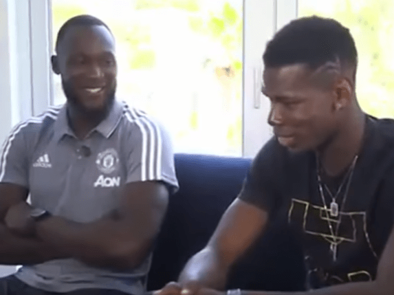 Romelu Lukaku explains bromance with Manchester United team-mate Paul Pogba – video