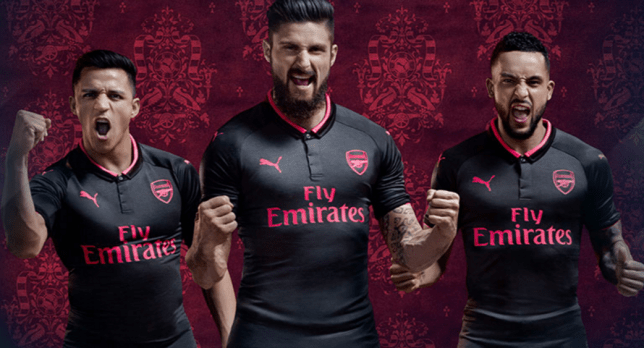 new style 0aaac 06971 Arsenal news: New 2017/18 third kit has Alexis Sanchez and ...