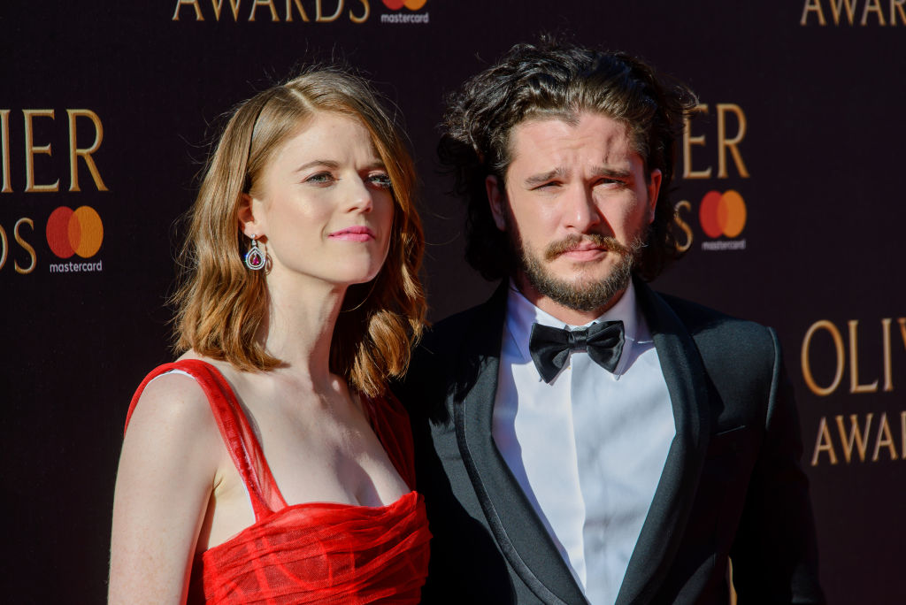 Kit Harington and Rose Leslie are 'not engaged' as they shut down engagement rumours