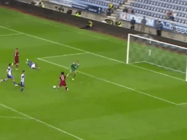 Mohamed Salah scores on Liverpool debut in friendly vs Wigan