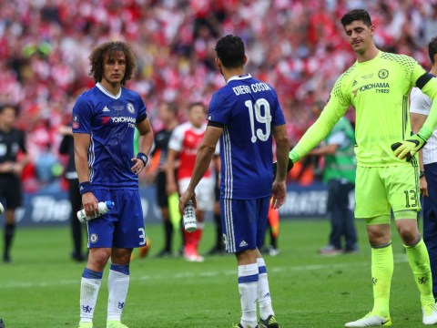 Chelsea's David Luiz reveals why he kept his medal after FA Cup final defeat to Arsenal