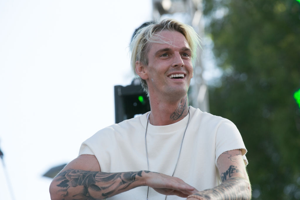 Aaron Carter arrested in Georgia for driving under the influence and marijuana possession