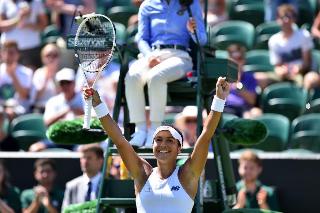 Wimbledon 2017: Heather Watson stuns Anastasija Sevastova with sensational display