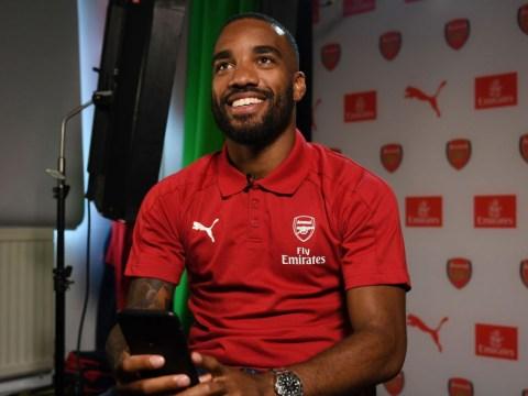 Alexandre Lacazette reveals Francis Coquelin influenced his £52m transfer move to Arsenal