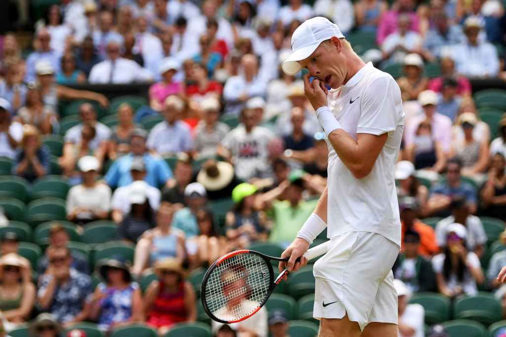 Kyle Edmund crashes out of Wimbledon to 15th seed Gael Monfils