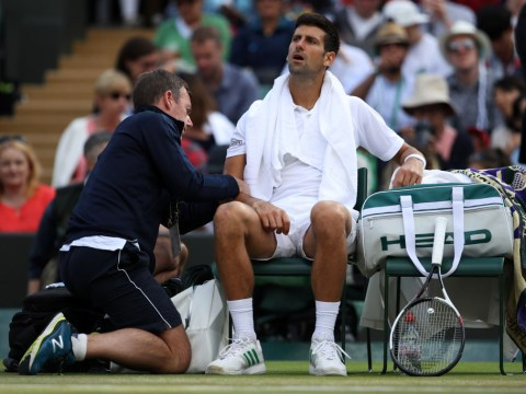 Novak Djokovic out for the rest of 2017 amid elbow injury problems