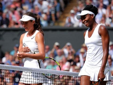 Johanna Konta: Venus Williams is a 'true champion'