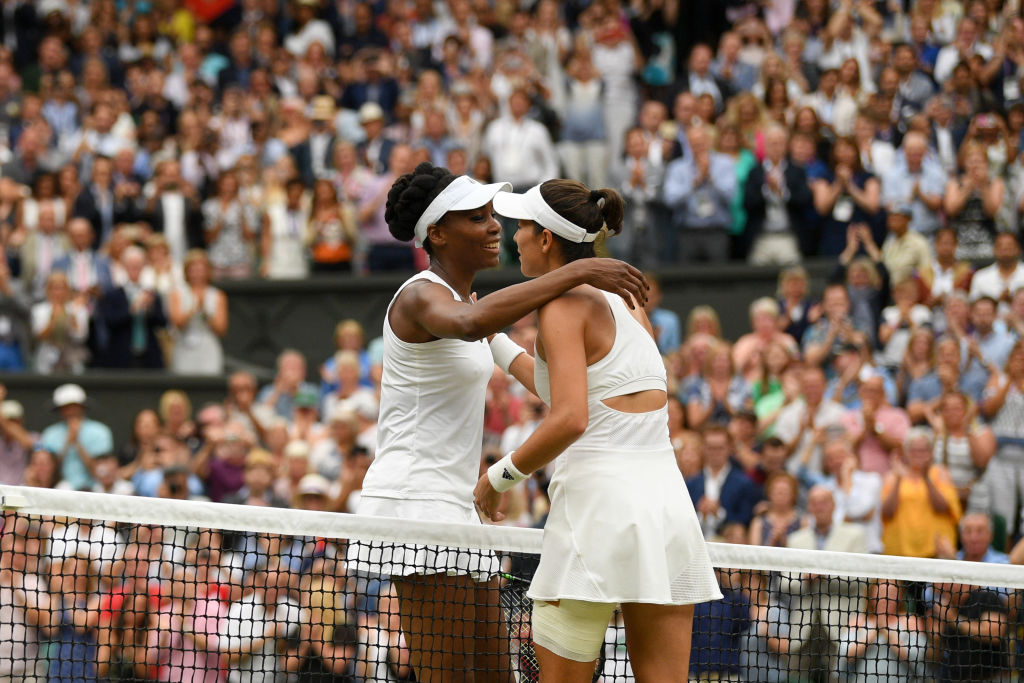 Venus Williams shows great sportsmanship and pays touching tribute to Serena after Wimbledon final loss