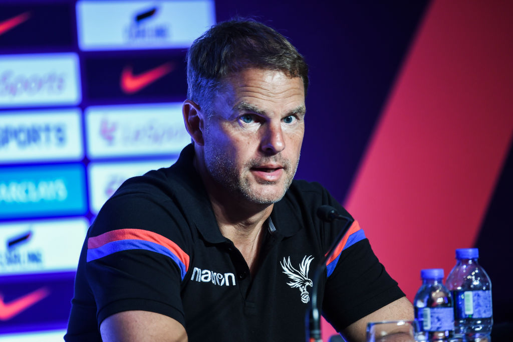 Crystal Palace boss Frank de Boer issues hands-off warning to Chelsea and Everton over Christian Benteke