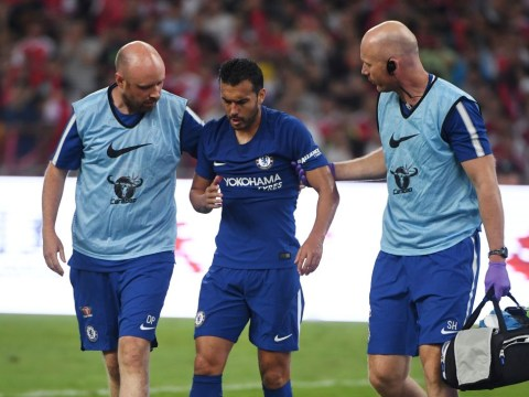 Pedro facial injuries worse than feared as Antonio Conte predicts return date for Chelsea forward