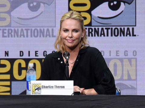 Charlize Theron brings feminism to Comic-Con and tells girls they can be as 'bad-ass' as James Bond