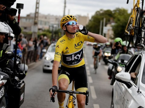 In pictures: Chris Froome clinches fourth Tour de France title in Paris