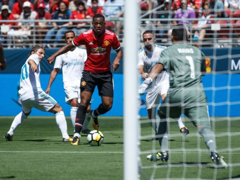 Anthony Martial destroys Real Madrid defence with amazing skills to assist Jesse Lingard