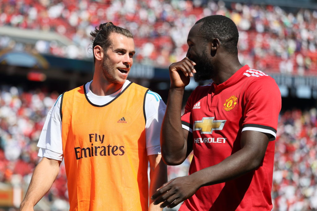 Real Madrid star Gareth Bale backs Romelu Lukaku to thrive at Manchester United