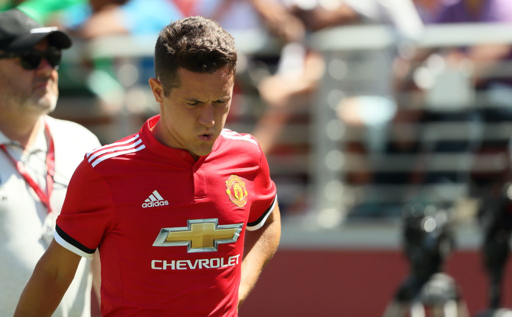 Jose Mourinho provides update on Manchester United midfielder Ander Herrera after Real Madrid injury scare