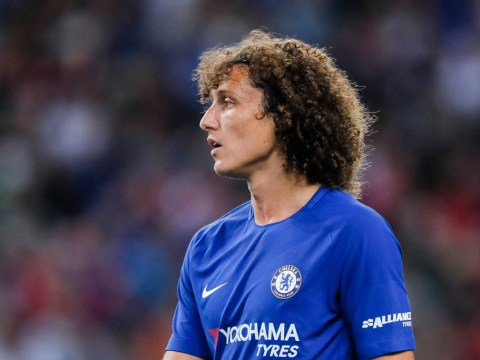 David Luiz dropped for Chelsea v Manchester United amid Antonio Conte bust-up talk