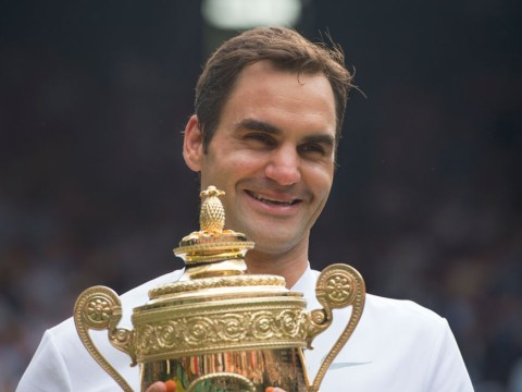Roger Federer has named his eighth Wimbledon trophy Arthur – and the reason is perfect