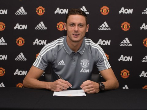 New signing Nemanja Matic wants to replicate Nemanja Vidic's success at Manchester United
