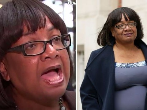Diane Abbott had a hiccup in interview on police numbers again