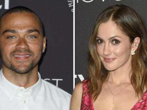 Grey's Anatomy star Jesse Williams is officially dating Minka Kelly following actor's divorce