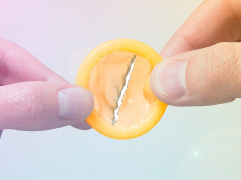 Here's what to do if the condom breaks while you're having sex