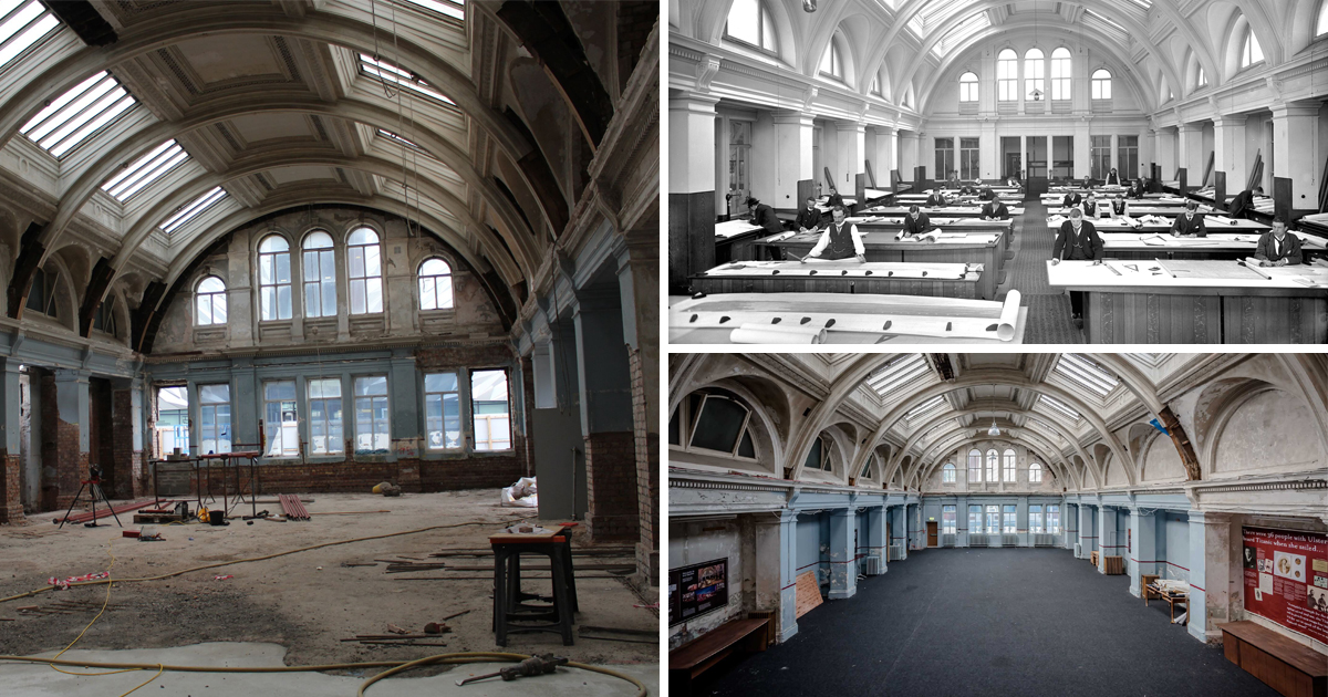 You'll soon be able to stay at the shipyard offices where Titanic was designed