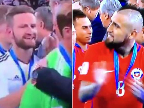Arsenal fans use Arturo Vidal and Shkodran Mustafi to hit back at Hector Bellerin trolls