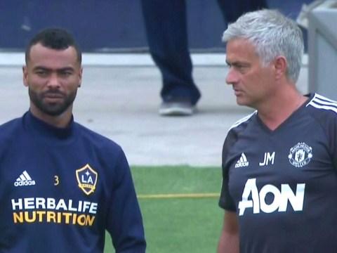 Jose Mourinho reveals conversation with 'good friend' Ashley Cole before LA Galaxy clash