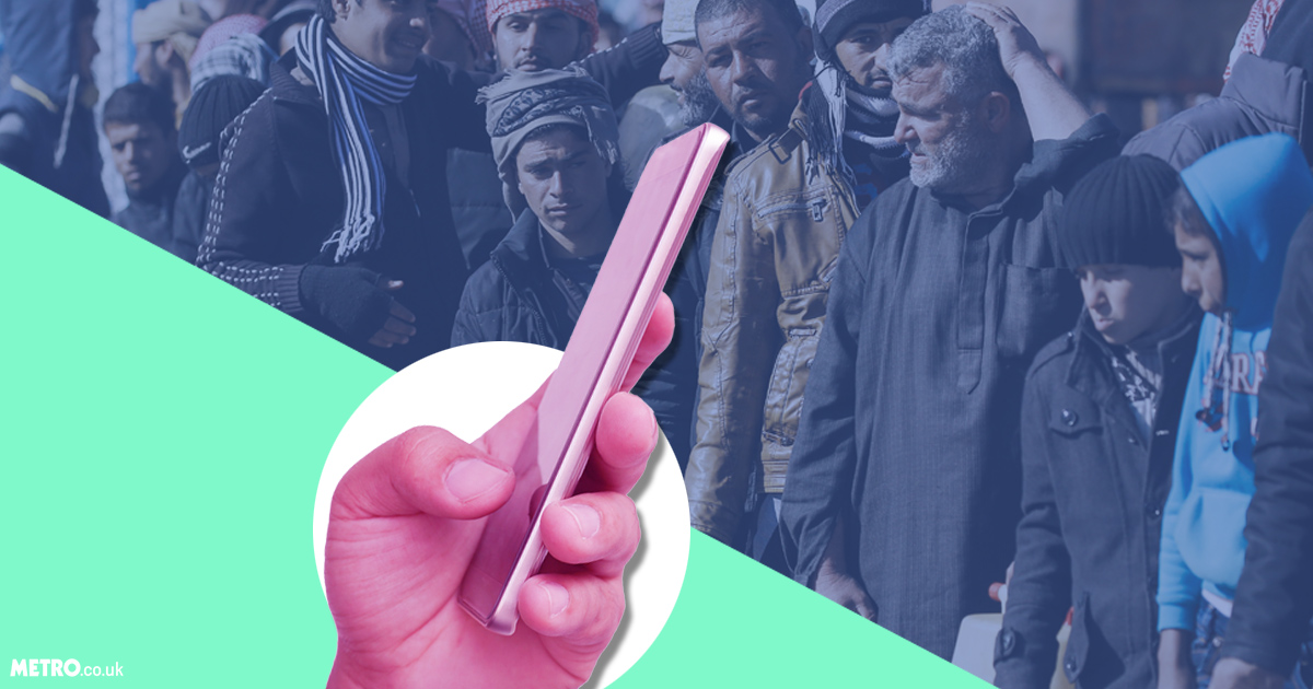 Refugees can have smartphones – get over it