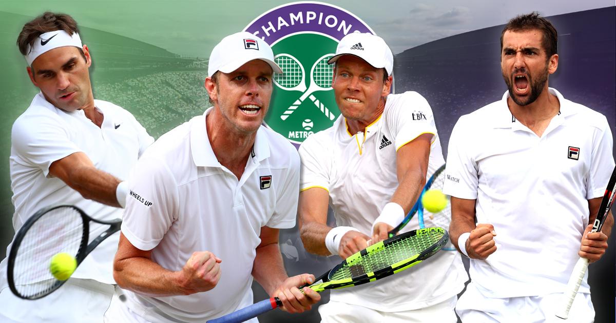 Wimbledon semi-finals LIVE: Roger Federer beats Tomas Berdych after Marin Cilic reaches final