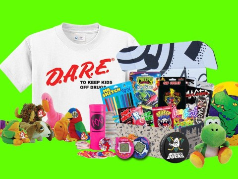 Attention 90s kids: the subscription box of your dreams has arrived