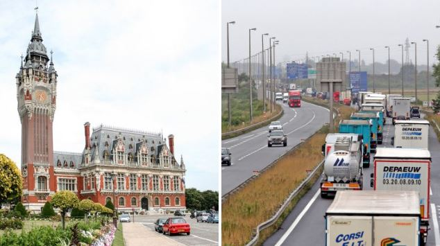 Brits may be allowed to drive on the left hand side in Calais