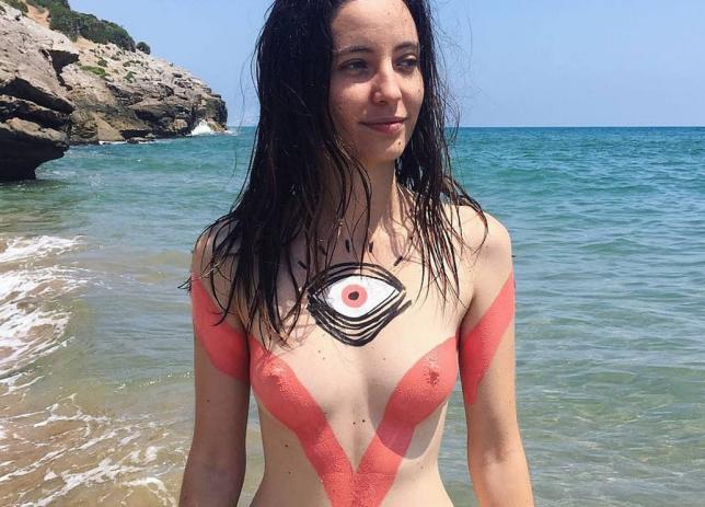 Claudia Sahuquillo Creates Amazing Body Art To Destigmatise Naked Bodies Metro News