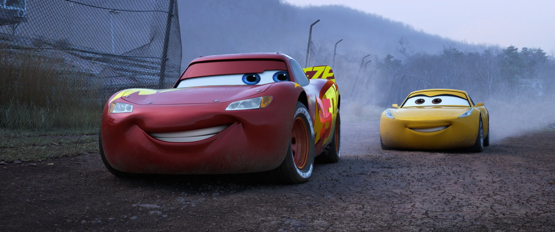 Cars 3 proves to be three times the charm with Lightning McQueen and the gang