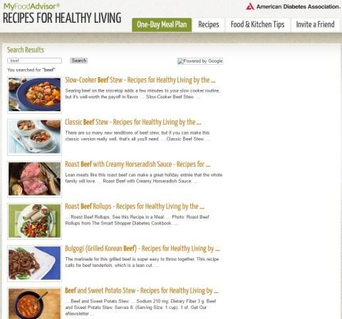 My Food Advisor Recipes For Healthy Living Healthy Recipes