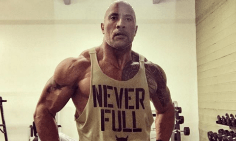 The Rock looks absolutely ripped after 'killer workout' before UFC 214 as he confesses: 'I never liked being punched in the face'