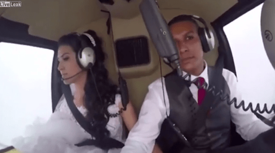 Wedding Helicopter Crash.Tragic Footage Of Bride Killed In Helicopter Crash On The Way To Her