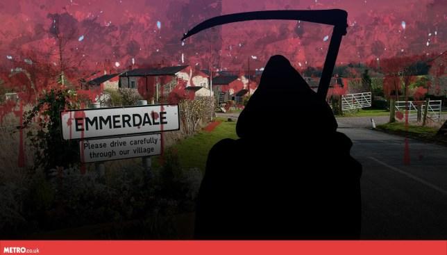 Emmerdale death scene in spoiler