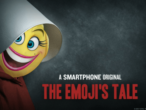 The Emoji Movie has used The Handmaid's Tale as promotional material and people are shocked