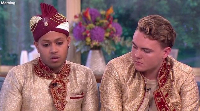 Couple married in first gay Muslim wedding hit back at