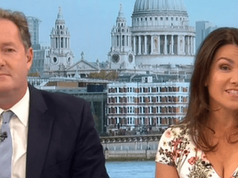 Susanna Reid tells Piers Morgan he's not her type on paper – and he doesn't get it