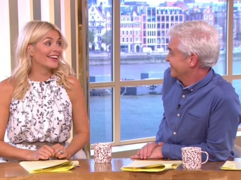 Holly Willoughby and Philip Schofield shocked by mother who is happy to breastfeed baby and have sex at the same time
