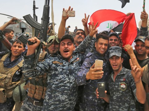 Iraqi prime minister declares victory over Isis in Mosul