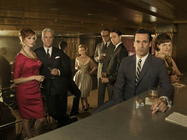 January Jones, Elisabeth Moss, Jon Hamm, Jared Harris, Christina Hendricks, Vincent Kartheiser, John Slattery